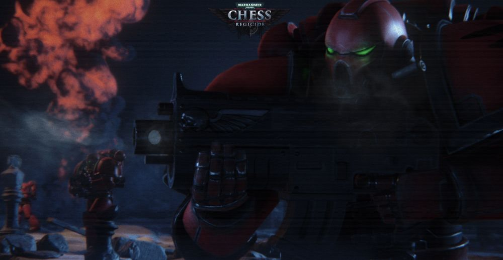 Warhammer 40K: Chess - Regicide sur iPhone et iPad