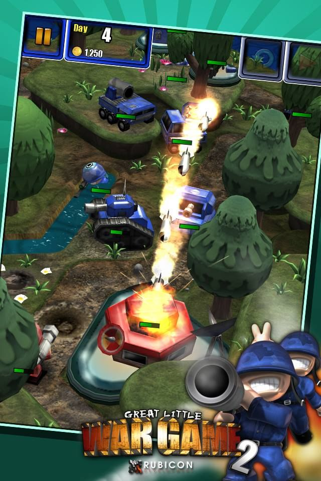 Great Little War Game 2 de Rubicon sur iPhone, iPad et Android