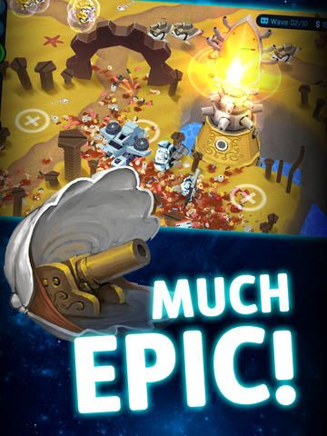 Over The Top Tower Defense de SMG Studio sur iPhone, iPad et Android