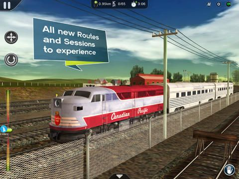 Trainz Simulator 2 sur iPad