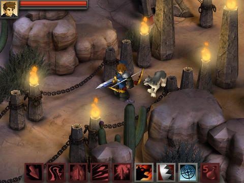 Battleheart Legacy sur iPhone et iPad