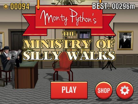 Monty Python's The Ministry of Silly Walks sur Android, iPhone et iPad