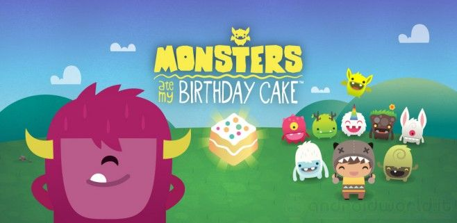 Monsters Ate My Birthday Cake sur iPhone, iPad et Android