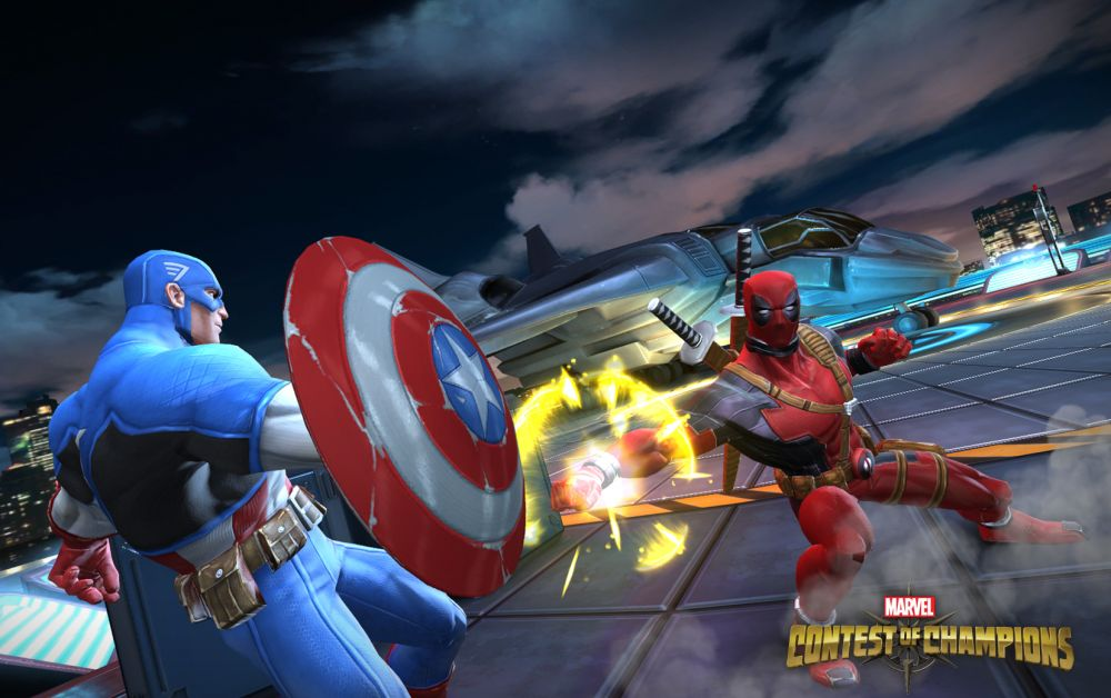 Marvel Contest of Champions sur mobile et tablette