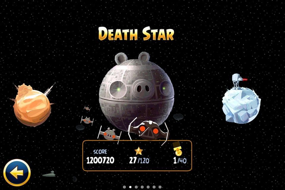 Visuels de angry birds star wars sur ios iphone ipad par - Telecharger angry birds star wars 2 ...