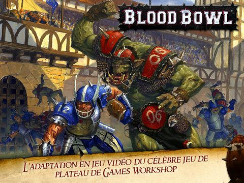Blood Bowl sur Android et iPad