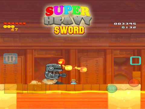 Super Heavy Sword sur iPhone, iPad et Android