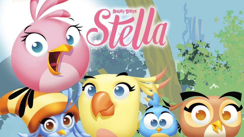 Angry Birds Stella de Rovio sur iPhone, iPad et Android
