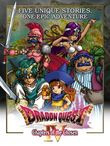 Dragon Quest 4 sur iPhone et iPad