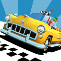 Test Android de Crazy Taxi: City Rush