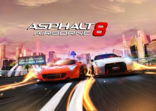Asphalt 8 Airborne Welcome to Dubaï sur iPhone et iPad