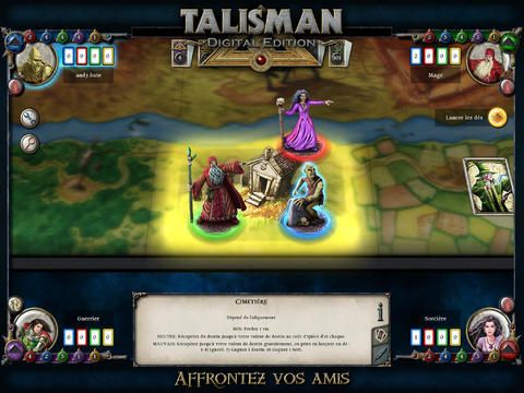 Talisman Digital Edition bientôt sur iPhone