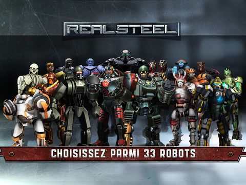 Real Steel sur iPhone et iPad