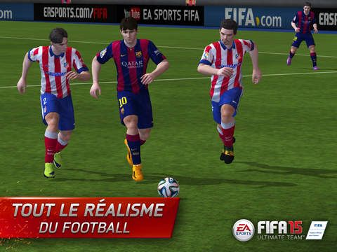 FIFA 15 sur Android, iPhone et iPad