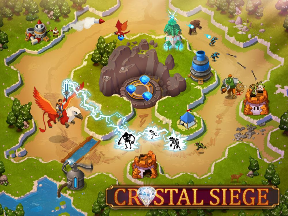 Crystal Siege de FDG Entertainment