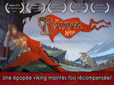 The Banner Saga sur iPhone et iPad