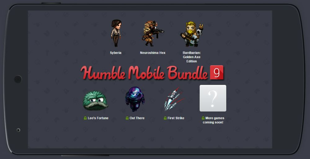 Humble Bundle Mobile 9 sur Android