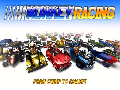 Monkey Racing de Drakkar Dev et Crescent Moon Games