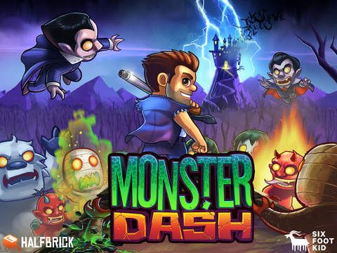 Monster Dash sur iPhone et iPad