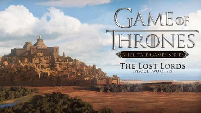 Game of Thrones A Telltale Games Series (Episode 2 The Lost Lords) de Telltale Games